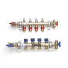 Topení Rehau nerezový rozdělovač s průtokoměrem HKV-D 10 kód 350273-900